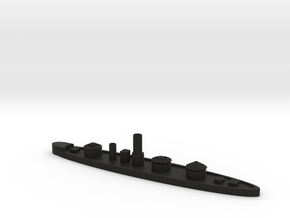 1/600 USS Roanoke in Black Natural Versatile Plastic