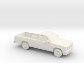 1/87 1985 Chevrolet  S 10  in White Natural Versatile Plastic
