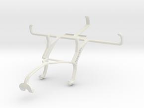 Controller mount for Xbox 360 & LG L Bello in White Natural Versatile Plastic