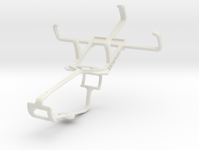Controller mount for Xbox One & LG Optimus L1 II T in White Natural Versatile Plastic