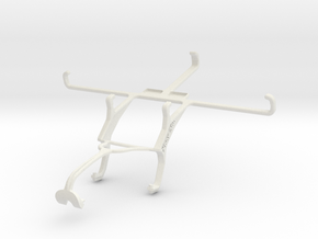 Controller mount for Xbox 360 & Maxwest Gravity 6 in White Natural Versatile Plastic