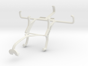 Controller mount for Xbox 360 & Maxwest Astro JR in White Natural Versatile Plastic