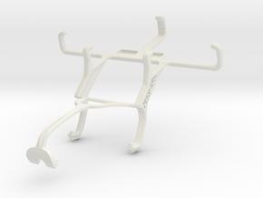 Controller mount for Xbox 360 & NIU Niutek 3.5D2 in White Natural Versatile Plastic