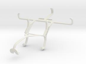 Controller mount for Xbox 360 & Plum Axe Plus in White Natural Versatile Plastic
