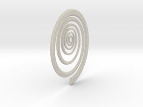 Spiral in Natural Sandstone