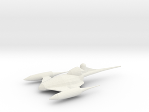 Naboo Fighter in White Natural Versatile Plastic