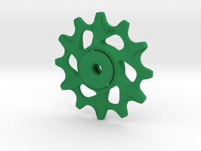 Lightweight Upper Pulley For SRAM XX1 12t in Green Strong & Flexible Polished