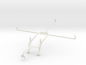 Controller mount for Xbox 360 & Prestigio MultiPad in White Natural Versatile Plastic