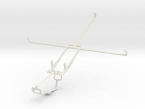 Controller mount for Xbox One & Prestigio MultiPad in White Natural Versatile Plastic
