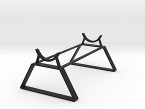 Saber Stand in Black Natural Versatile Plastic