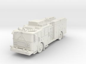 ~1/64 FDNY Seagrave Marauder II Squad in White Strong & Flexible