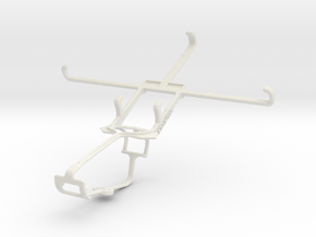 Controller mount for Xbox One & Samsung Galaxy Meg in White Natural Versatile Plastic