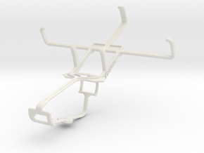 Controller mount for Xbox One & Samsung Galaxy K z in White Natural Versatile Plastic