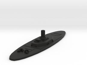 1/600 CSS Jackson in Black Natural Versatile Plastic