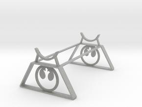 Rebel Saber Stand in Metallic Plastic