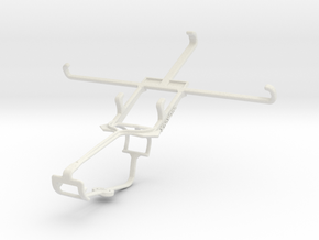 Controller mount for Xbox One & Sony Xperia C3 in White Natural Versatile Plastic