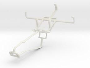 Controller mount for Xbox One Chat & Sony Xperia E in White Natural Versatile Plastic