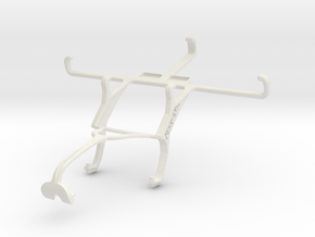 Controller mount for Xbox 360 & Sony Xperia E3 in White Natural Versatile Plastic
