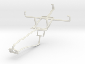 Controller mount for Xbox One Chat & Unnecto Drone in White Natural Versatile Plastic
