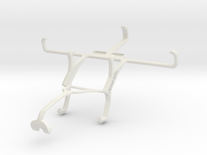 Controller mount for Xbox 360 & Vertu Aster in White Natural Versatile Plastic