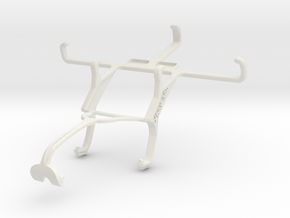 Controller mount for Xbox 360 & Unnecto Quattro Z in White Natural Versatile Plastic