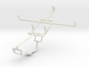 Controller mount for Xbox One & verykool SL5000 Qu in White Natural Versatile Plastic