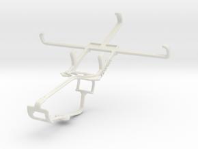 Controller mount for Xbox One & Vodafone Smart 4 p in White Natural Versatile Plastic