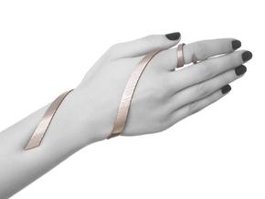 Kimberly Ovitz - Coelom Bracelet  in Black Natural Versatile Plastic