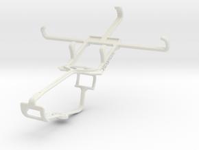 Controller mount for Xbox One & ZTE Blade Q Mini in White Natural Versatile Plastic