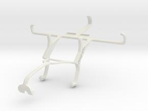 Controller mount for Xbox 360 & ZTE Kis 3 Max in White Natural Versatile Plastic