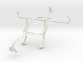 Controller mount for Xbox 360 & ZTE Kis 3 in White Natural Versatile Plastic