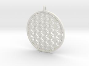Charm 04 (printing) in White Natural Versatile Plastic