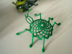 Spiro Insect in Green Processed Versatile Plastic