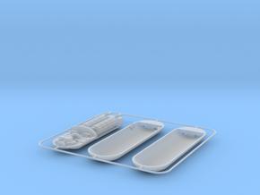 Star Trek - Photon Torpedo 1:72 scale in Smooth Fine Detail Plastic