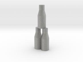 Bottle Tip Game in Metallic Plastic