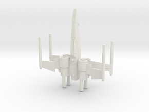 Space Superiority Fighter 7 in White Natural Versatile Plastic