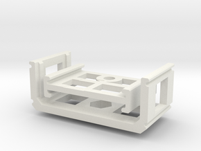 Zoom H1 Isolation Mount v2 in White Strong & Flexible