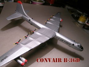 1/285 B-36 Bomber in White Strong & Flexible