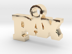 PAX in 14k Gold Plated Brass