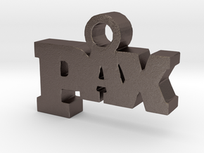 PAX in Polished Bronzed Silver Steel