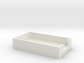 ppk_usb bottom piece in White Natural Versatile Plastic
