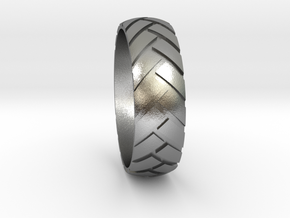 Notire)) Sz12 in Natural Silver
