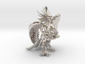 Birdwoman 3'' in Platinum