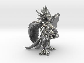 Birdwoman 3'' in Natural Silver