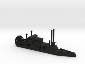 1/600 CSS/USS Barataria in Black Natural Versatile Plastic
