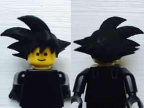 Custom Goku Inspired Lego in White Strong & Flexible