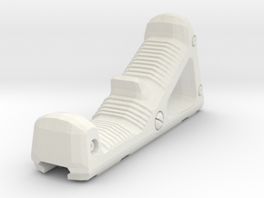 1/6 AngledGrip2 in White Natural Versatile Plastic