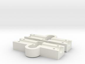 Achskörper  HA  SX2000   1:87 in White Natural Versatile Plastic
