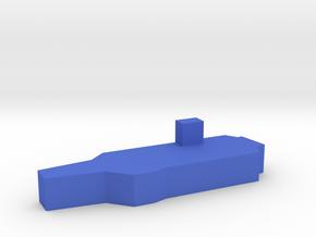 Game Piece, Blue Force Super Carrier in Blue Processed Versatile Plastic