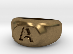 A Ring in Natural Bronze